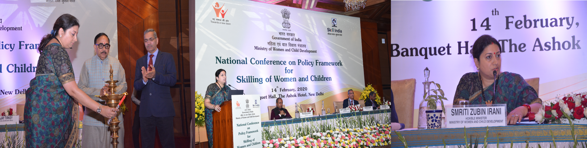 National Conference on Policy Framework for Skilling of Women and Children 14 Feb 2020